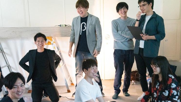 "Raising the ""Mirai-no-Noren"" in Nihonbashi to build new experiences! ""nihonbashi β"" Production Report"