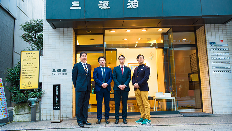 """A Desire to Create Encounters That """"Make Life Rich"""" in One of Japan's Largest Concentrated Art Districts. Tokyo Art & Antiques, Its Organizers, and What's on Their Minds."""