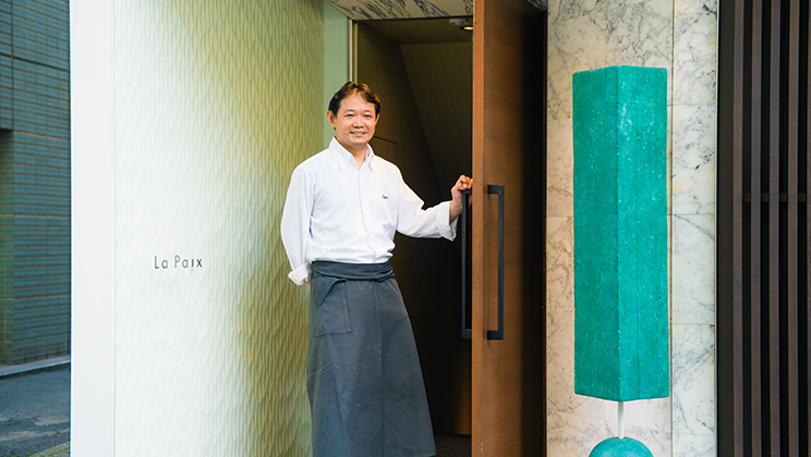 Nihonbashi's Restaurants Build Bridges: The Thought That Goes Into the Cuisine That Connects Producers With Guests.