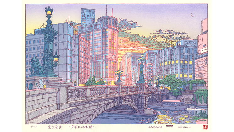 The Nostalgic Yet New Face of Nihonbashi as Depicted by an Illustrator Who Loves Downtowns:
